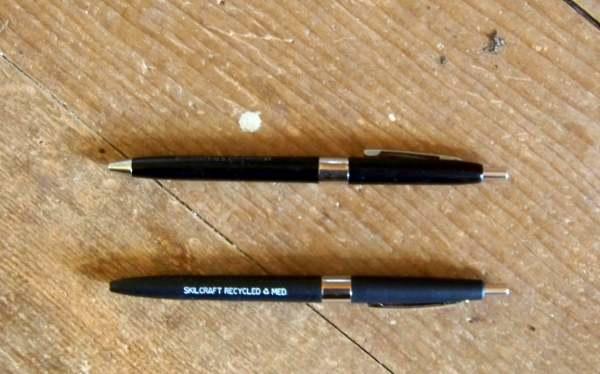 Vintage SKILCRAFT Grease Pencils Pen 4 China Marker Black Crayon US  Government | eBay